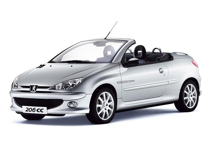 Peugeot 206cc Cabrio
